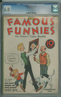 Famous Funnies #7 - HGC (Eastern Color, 1935) CGC FN 6.0 Off-white to white pages