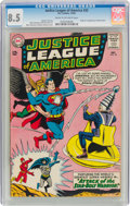 Silver Age (1956-1969):Superhero, Justice League of America #32 (DC, 1964) CGC VF+ 8.5 Cream to off-white pages....