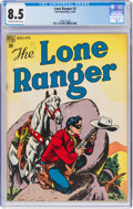 Golden Age (1938-1955):Western, Lone Ranger #2 (Dell, 1948) CGC VF+ 8.5 Off-white to white pages....
