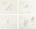 """Animation Art:Concept Art, """"The Art of Mike Maltese and Looney Tunes"""" Publicity Concept Drawings Group of 15 (Warner Brothers, c. 1950s).... (Total: 15 Original Art)"""