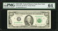 Fr. 2172-B* $100 1988 Federal Reserve Note. PMG Choice Uncirculated 64