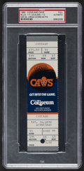 Basketball Collectibles:Others, 1990 Michael Jordan Chicago Bulls vs. Cleveland Cavaliers Career-High 69 Points Full Ticket - Only Graded Example, PSA Authent...