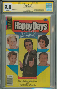 Happy Days #1 (Gold Key, 1979) CGC NM/MT 9.8 White pages