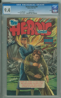 Heroic Comics #68 - Salida (Eastern Color, 1951) CGC NM 9.4 White pages