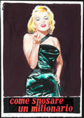 Movie Posters:Comedy, How to Marry a Millionaire by Enzo Nistri (20th Century Fo...