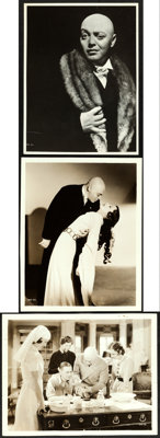 """Mad Love (MGM, 1935). Fine/Very Fine. Photos (3) (8"""" X 10"""" & 7.5"""" X 9.75""""). ... (Total: 3 Items)"""