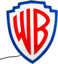 Memorabilia:Miscellaneous, Warner Brothers Shield Logo Lighted Sign (Warner Brothers, c. 1960s-70s)...