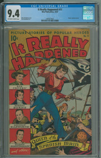It Really Happened #11 (Standard, 1947) CGC NM 9.4 Off-white to white pages