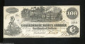 Confederate Notes:1862 Issues, T39 $100 1862. A faint center fold is found on this ...