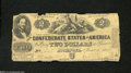 Confederate Notes:1862 Issues, T42 $2 1862. Due to a shortage of small denominations, ...