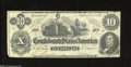 Confederate Notes:1862 Issues, T46 $10 1862. Very Fine-Extremely Fine. A nice, attractive ...