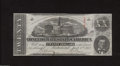 Confederate Notes:1863 Issues, T58 $20 1863. This 2nd Series $20 exhibits a few light ...