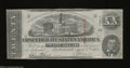 Confederate Notes:1863 Issues, T58 $20 1863. Sound edges and light folds are found on ...
