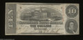 Confederate Notes:1863 Issues, T59 $10 1863. Some foxing is seen on this $10. Very Fine....