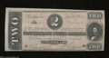Confederate Notes:1864 Issues, T70 $2 1864. This enchanting Deuce was printed on white ...