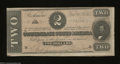 Confederate Notes:1864 Issues, T70 $2 1864. The folds found on this $2 have been ...
