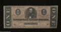 Confederate Notes:1864 Issues, T71 $1 1864. The Confederate Treasury had a hard time ...