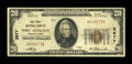 National Bank Notes:Pennsylvania, Port Allegheny, PA - $20 1929 Ty. 1 The First NB Ch. # 3877. ...