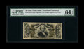 Fractional Currency:Third Issue, Fr. 1324 50c Third Issue Spinner PMG Choice Uncirculated 64 EPQ....