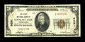 National Bank Notes:Pennsylvania, Conneaut Lake, PA - $20 1929 Ty. 1 The First NB Ch. # 6891. ...