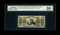 Fractional Currency:Third Issue, Fr. 1372 50c Third Issue Justice PMG Choice About Unc 58 EPQ....