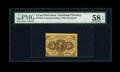Fractional Currency:First Issue, Fr. 1228 5c First Issue PMG Choice About Unc 58 EPQ....