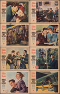 """Movie Posters:Comedy, Arise, My Love (Paramount, 1940). Fine+. Lobby Card Set of 8 (11"""" X 14""""). Comedy.. ... (Total: 8 Items)"""