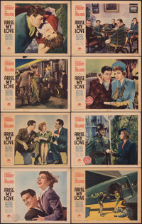 "Arise, My Love (Paramount, 1940). Fine+. Lobby Card Set of 8 (11"" X 14""). Comedy. ... (Total: 8 Items)"