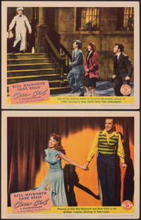 "Cover Girl (Columbia, 1944). Very Fine-. Lobby Cards (2) (11"" X 14""). Musical. ... (Total: 2 Items)"