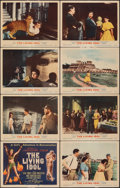 """Movie Posters:Adventure, The Living Idol (MGM, 1956). Very Fine-. Lobby Card Set of 8 (11"""" X 14""""). Adventure.. ... (Total: 8 Items)"""
