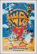 """Movie Posters:Animation, Bugs Bunny Film Festival (Warner Bros., 1998). Rolled, Fine/Very Fine. One Sheet (27"""" X 39"""") DS. Animation.. ..."""