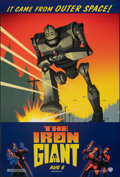 """Movie Posters:Animation, The Iron Giant (Warner Bros., 1999). Rolled, Fine/Very Fine. One Sheet (27"""" X 40"""") DS Advance. Animation.. ..."""