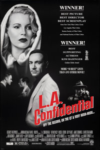 "L.A. Confidential (Warner Bros., 1997). Rolled, Very Fine+. One Sheet (27"" X 40"") DS, Award Style. Crime"