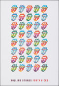 """Movie Posters:Rock and Roll, Rolling Stones Forty Licks (2002). Rolled, Very Fine+. Album Print (18"""" X 26""""). Rock and Roll.. ..."""