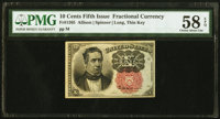 Fr. 1265 10¢ Fifth Issue PMG Choice About Unc 58 EPQ