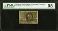 Fractional Currency:Second Issue, Fr. 1285 25¢ Second Issue PMG About Uncirculated 55.. ...