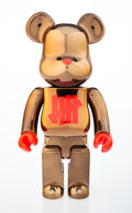 Collectible, BE@RBRICK X UNDFTD X Stussy X HECTIC. Full Metallic Jacket 400%, 2016. Painted cast resin. 11 x 5 x 3-1/2 inches (27.9 x...