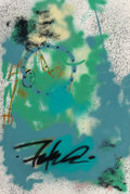 Paintings, Futura (b. 1955). In the Midst, 1994. Acrylic and spray paint on canvas. 53-1/2 x 34-1/2 inches (135.9 x 87.6 cm). Signe...