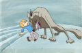 Animation Art:Production Cel, The Lion, the Witch and the Wardrobe Production Cel, Animation Drawing, and Key Master Background Group of 3 (Bill Mel... (Total: 3 )