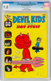 Devil Kids Starring Hot Stuff #56 File Copy (Harvey, 1972) CGC NM/MT 9.8 Off-white to white pages