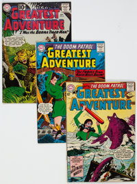 My Greatest Adventure/Group of 13 (DC, 1961-64) Condition: Average VG+.... (Total: 13)