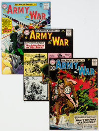Our Army at War Group of 8 (DC, 1961-65).... (Total: 8 Comic Books)
