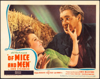 """Of Mice and Men (United Artists, 1939). Fine/Very Fine. Lobby Card (11"""" X 14""""). Drama"""