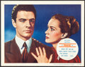 """Movie Posters:Hitchcock, The Paradine Case (Selznick, 1948). Very Fine. Lobby Card (11"""" X 14""""). Hitchcock.. ..."""