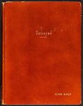 Movie Posters:Drama, Clark Gable's Personal Script from Betrayed by Ronald Millar and George Froeschel (MGM, 1954). Very Fine. Leather-Bound Scri...