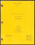 """Movie Posters:Academy Award Winners, Gone with the Wind by Margaret Mitchell and Sidney Howard (MGM, 1960s). Very Fine+. Presentation Script (273 Pages, 8.5"""" X 1..."""
