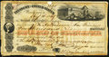 Treasury of the United States Second of Transfer $5,000 Aug. 16, 1859 Very Good