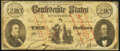 Confederate Notes:1861 Issues, CT25/168A $10 1861 Counterfeit Fine.. ...