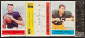 Football Cards:Unopened Packs/Display Boxes, 1964 Philadelphia Football Unopened Rack Pack With Johnny Unitas Showing on Back. ...