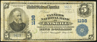 Catskill, NY - $5 1902 Plain Back Fr. 598 The Tanners National Bank Ch. # 1198 Very Good